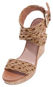 Stuart Weitzman Scoop Nyc Camel Wedges