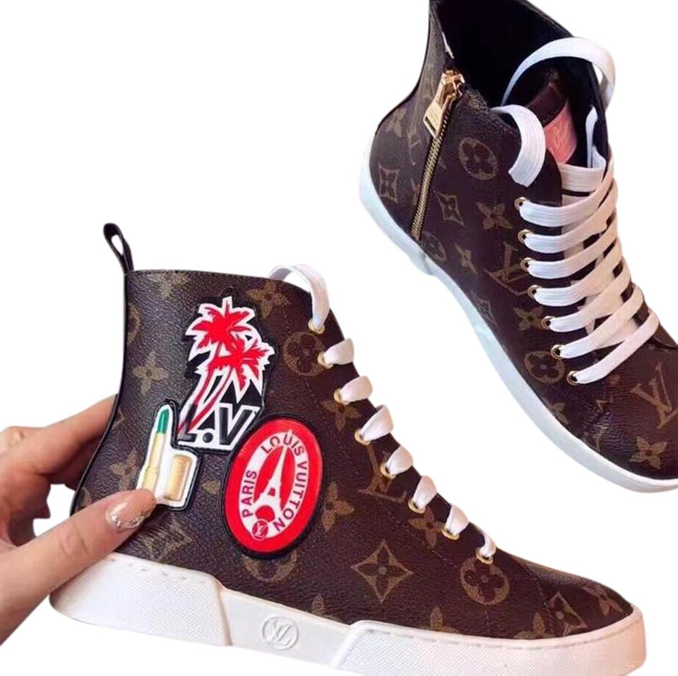 30a6da31fd14 Louis Vuitton World Tour Sneaker 2017 Limited Edition Boots Booties ...