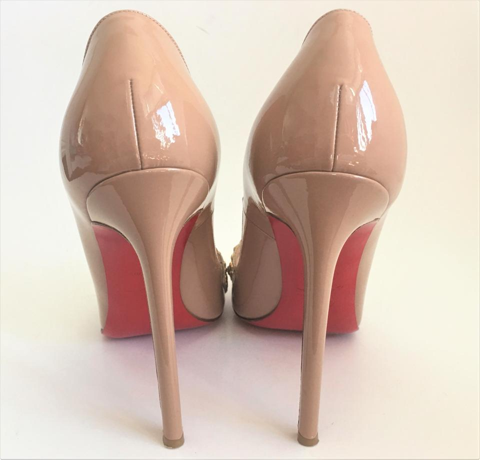 39eba220704 Christian Louboutin Beige Sex Pigalle 39it Patent Strass High Heel Red Sole  Women Lady Fashion Pumps Size EU 39 (Approx. US 9) Regular (M, B) 35% off  ...