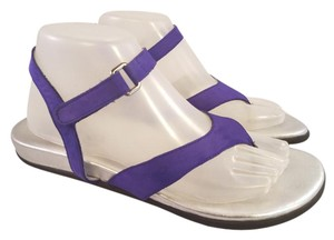 0b1239bd6d9e Arche Made In France Woman Gladiator Thongs purple silver Sandals