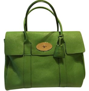 59b86d49ffbd Green Mulberry Bags - Up to 90% off at Tradesy