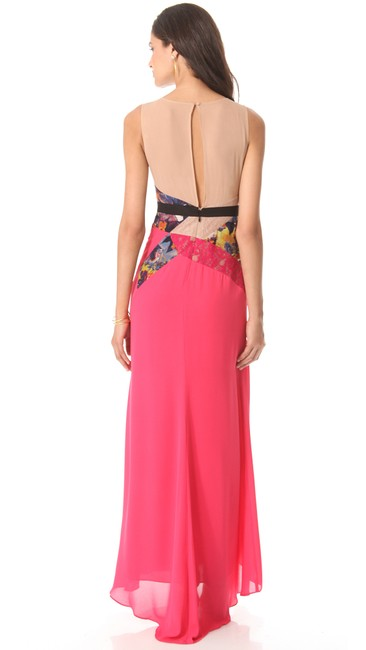 BCBGMAXAZRIA Maxi Slit Dress