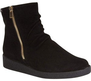 Mephisto Wedge BROWN LEATHER Boots