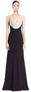 Carmen Marc Valvo Gown Embellished Dress