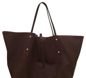 Annabel Ingall Tote in maroon