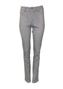 Peace of Cloth Jean Style Unlined Slim Fit Skinny Pants Grey