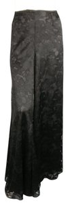 Chanel Lace 2006 Flared High Rise Wide Leg Pants Black
