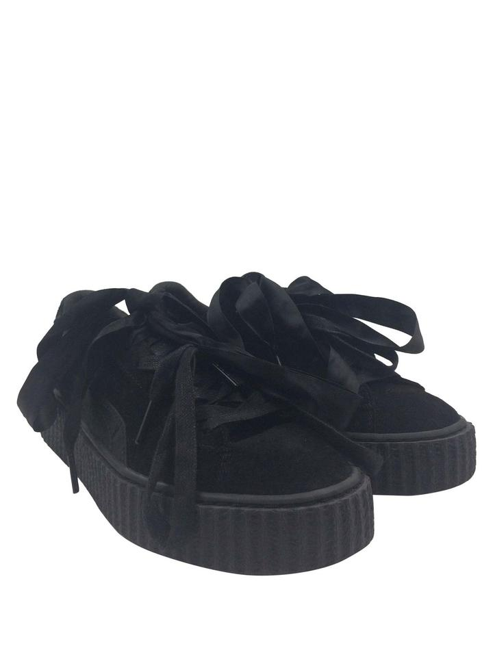 timeless design 9cb60 ce0e6 FENTY PUMA by Rihanna Black Suede Creeper Up Sneakers Sneakers Size US 9  Regular (M, B) 32% off retail