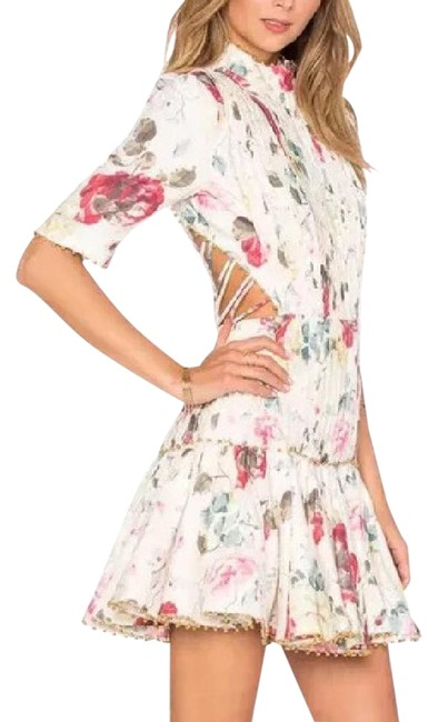 Preload https://img-static.tradesy.com/item/21891749/zimmermann-floral-mischief-corset-laced-short-casual-dress-size-0-xs-0-1-650-650.jpg