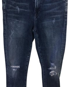 Citizens of Humanity Distressed Skinny High Rise Skinny Jeans-Distressed