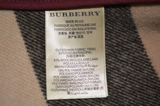 Burberry Jacket Wool Peacoat Double Breasted Trench Coat Image 10