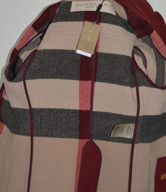 Burberry Jacket Wool Peacoat Double Breasted Trench Coat Image 9