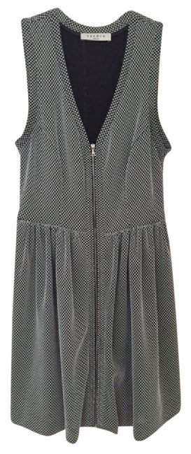 Preload https://img-static.tradesy.com/item/21892067/sandro-black-and-white-short-casual-dress-size-2-xs-0-1-650-650.jpg