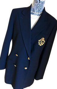 Ralph Lauren Classic Double Breasted Navy Blazer M