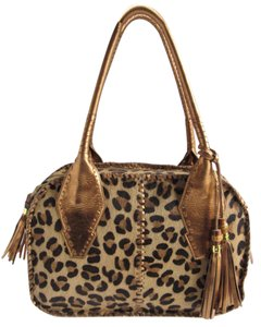 Clever Carriage Company Co Bags Tote in Leopard Print