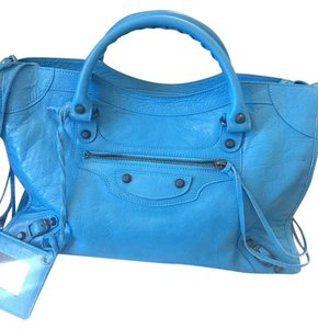 Balenciaga City Classic City New Tote in Blue
