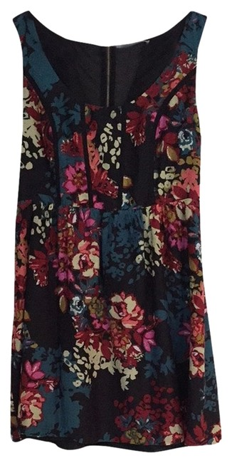 Kensie short dress Multi/Floral on Tradesy