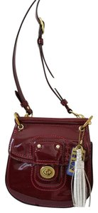Coach Mini Willis Tassel Charm Vintage Cute Cross Body Bag