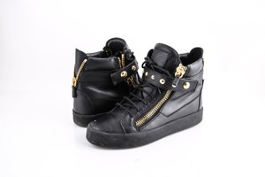 Giuseppe Zanotti Studded High Top Sneakers Black Shoes