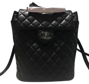 97b77f25322a8d Black Chanel Backpacks - Up to 90% off at Tradesy