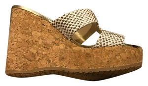 Jimmy Choo natural Wedges