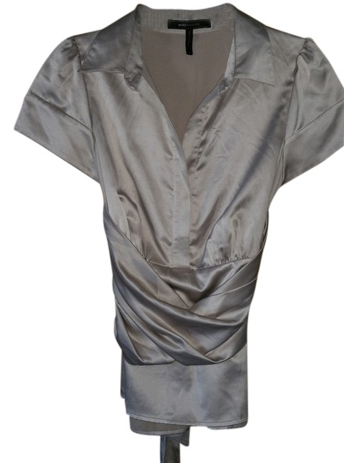 Preload https://item2.tradesy.com/images/bcbgmaxazria-champagne-blouse-size-6-s-2189436-0-0.jpg?width=400&height=650