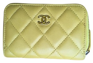 Chanel Zip around card case