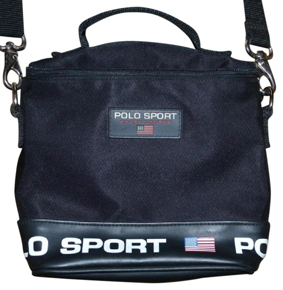 13a2d8701f Polo Ralph Lauren Vintage Sport American Flag Red White Cross Body Bag  Image 0 ...