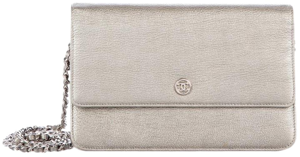 a564284cd423 Chanel Woc Wallet On A Cc Logo Goatskin Cross Body Bag Image 0 ...