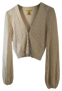 8a50a70adcfa5 Catherine Malandrino Knit Delicate Cropped Full Sleeves Cardigan