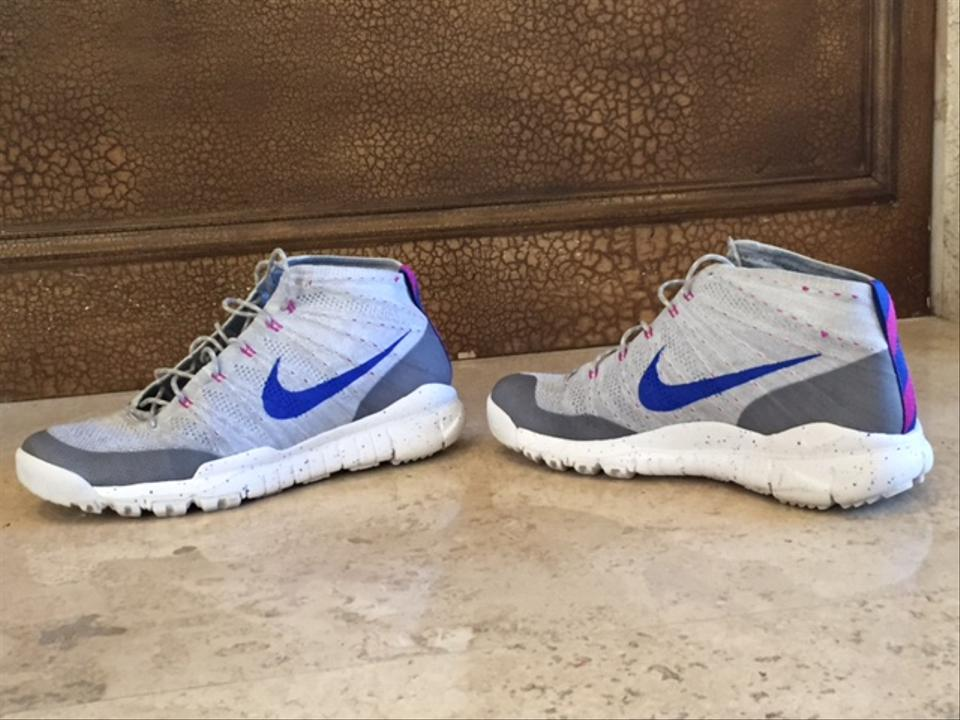 reputable site d8ecf 5618b 46e2f bdd35  authentic nike men flyknit trainer chukka fsb wolf grey blue  sneakers size b7998 d101a