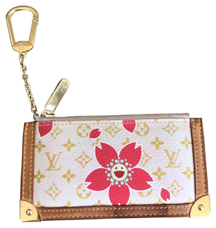39c052446d4d Louis Vuitton More LV in My Closet! Pink Cherry Blossom Murakami Key Pouch  Cles Image ...