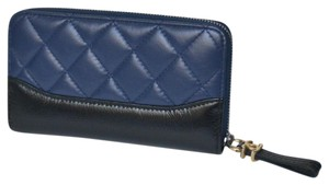 Chanel New Gabrielle Quilted Zip Around Wallet
