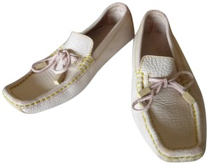 Louis Vuitton LIGHT PINK LEATHER Flats