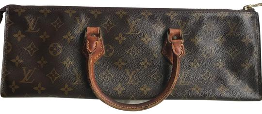 Preload https://item5.tradesy.com/images/louis-vuitton-vintage-limited-edition-european-monogram-leather-satchel-brown-21896459-0-7.jpg?width=440&height=440