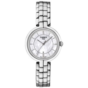 Tissot Flamingo Mother of Pearl Dial Ladies Watch