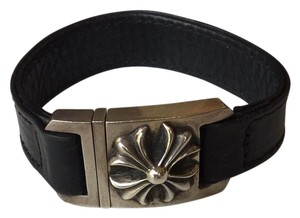 Chrome Hearts silver Flower Harness Clasp