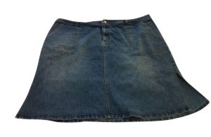 Lane Bryant Skirt Denim