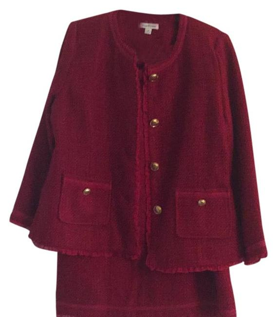 Item - Ruby Red Skirt Suit Size 12 (L)