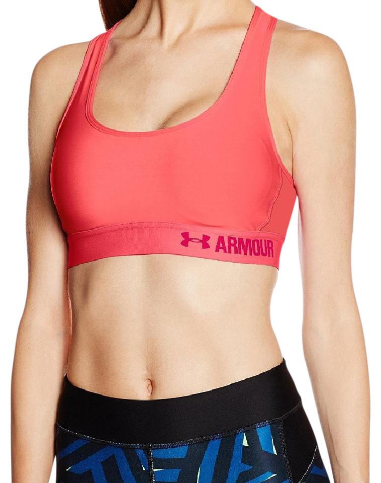 d5854cc566 Under Armour Under Armour Women s UA Crossback Padded Sports Bra L  Brilliance Coral Image 0 ...