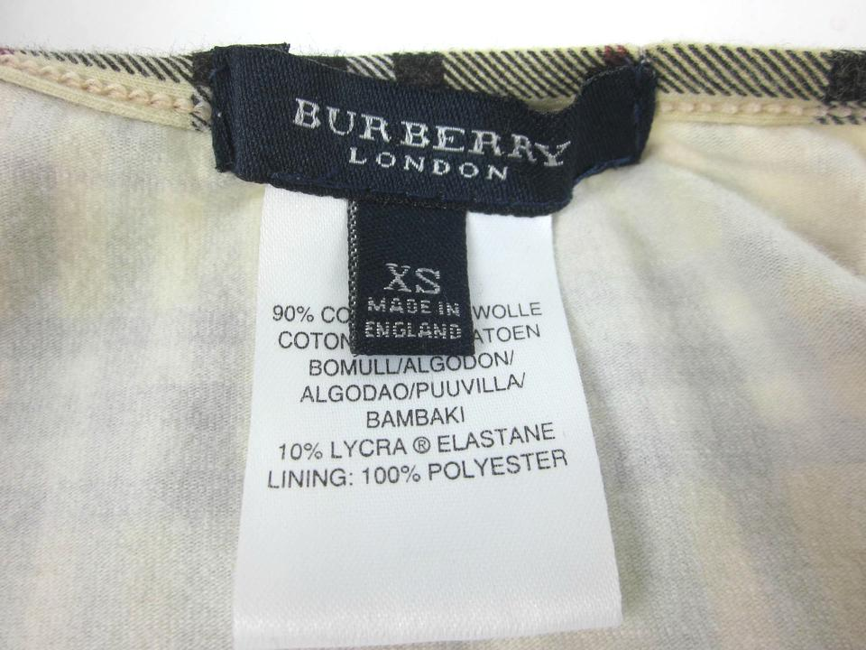 a43221058a8e9 Burberry Beige Nova Check Swimsuit Sz  Xs (2 To 6) Bikini Set Size 2 ...