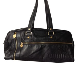 Puma Black with gold accents Travel Bag