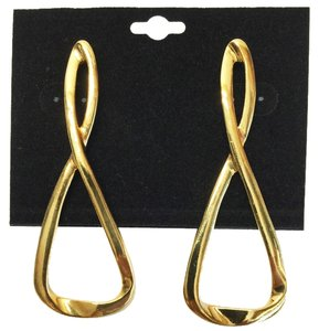 Golden-8 Earrings (Pierced) [ Roxanne Anjou Closet ]