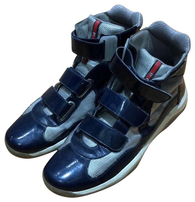 Item - Navy High Top Sneakers Size US 10 Regular (M, B)
