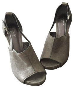 Coach Silvery gray with a hint of sparkle Pumps