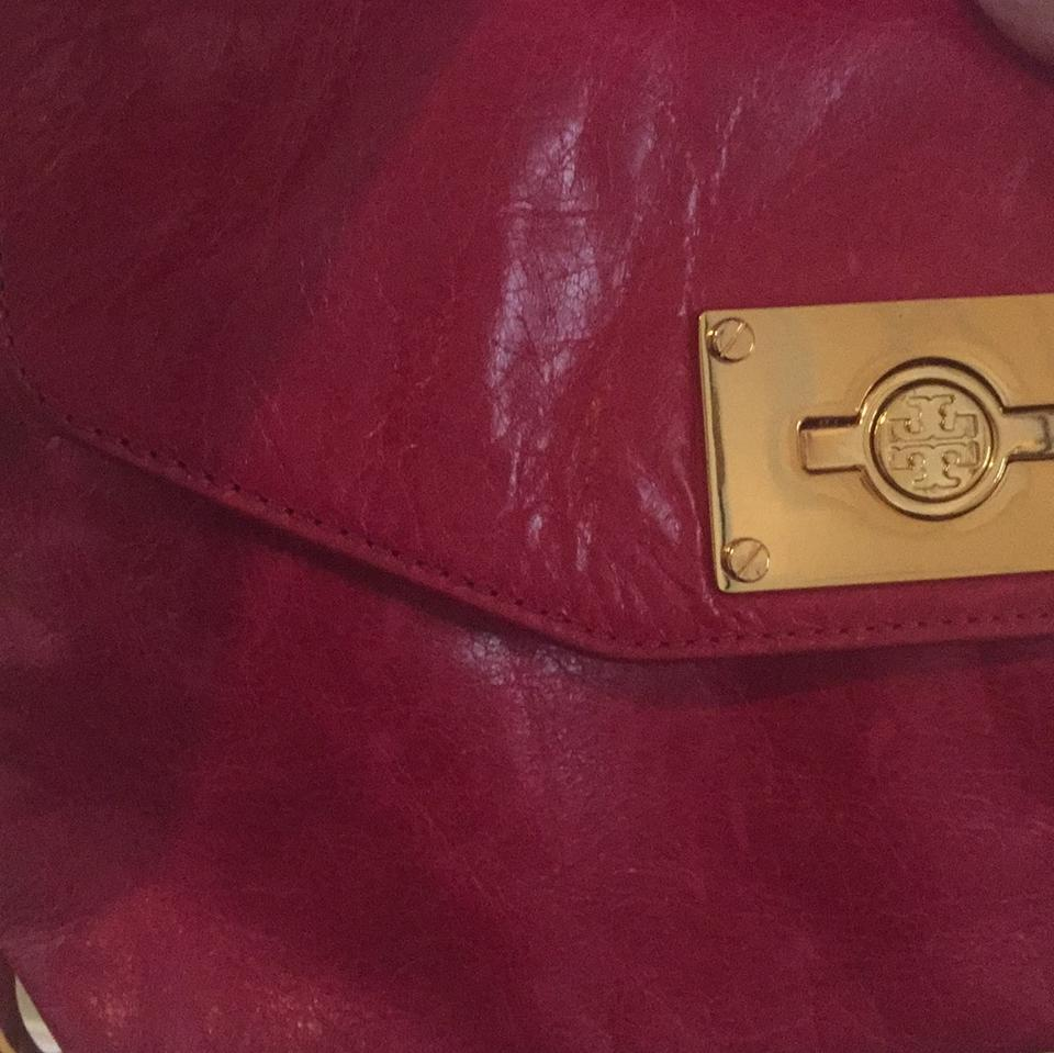 Burch Leather Messenger Pink Tory Hot Bag OdSqvvx