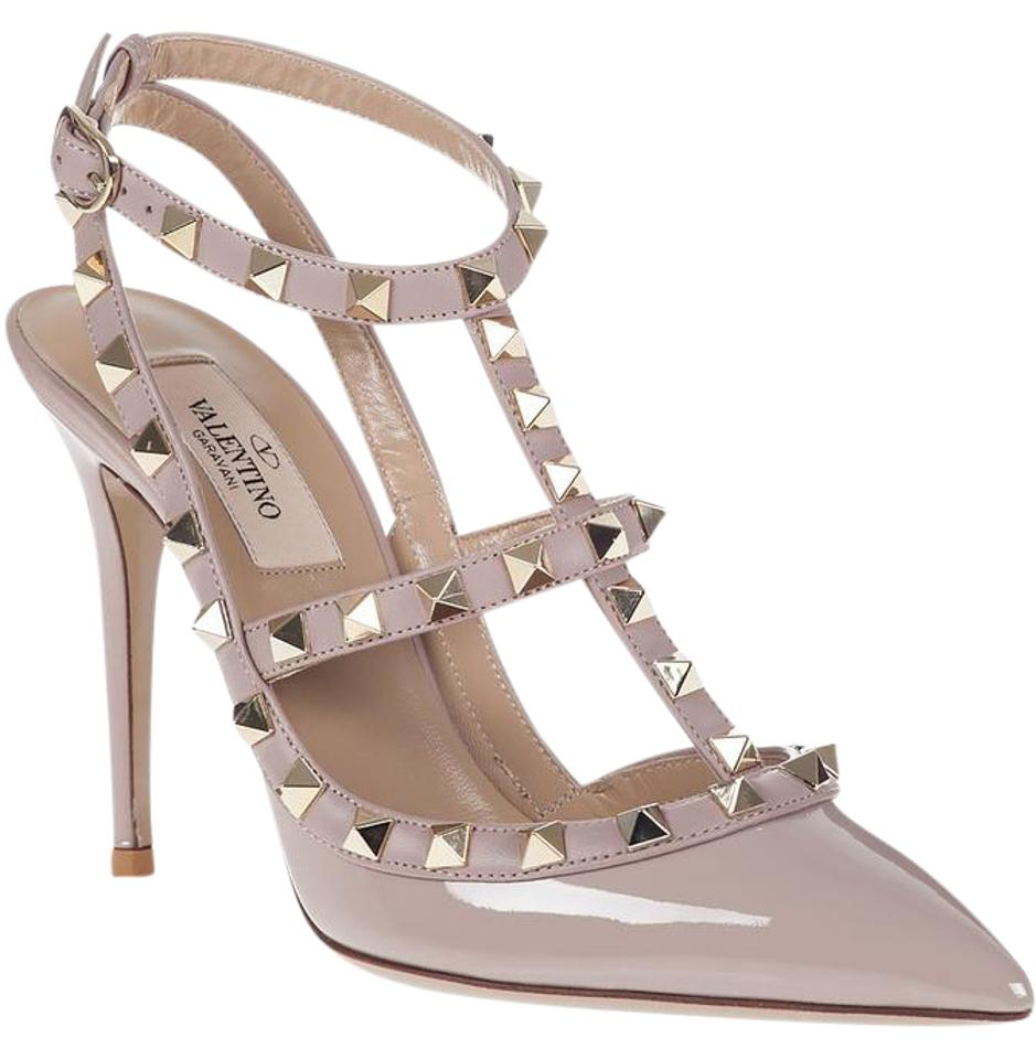 valentino rockstud poudre patent nwt pumps on sale 22 off pumps on sale. Black Bedroom Furniture Sets. Home Design Ideas
