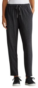Eileen Fisher Drawstring Slouchy Ankle Cozy Tencel Relaxed Pants CHARCOAL