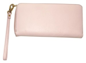 Fossil Pink Clutch