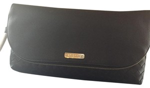 Cole Haan Black with gold zipper Clutch